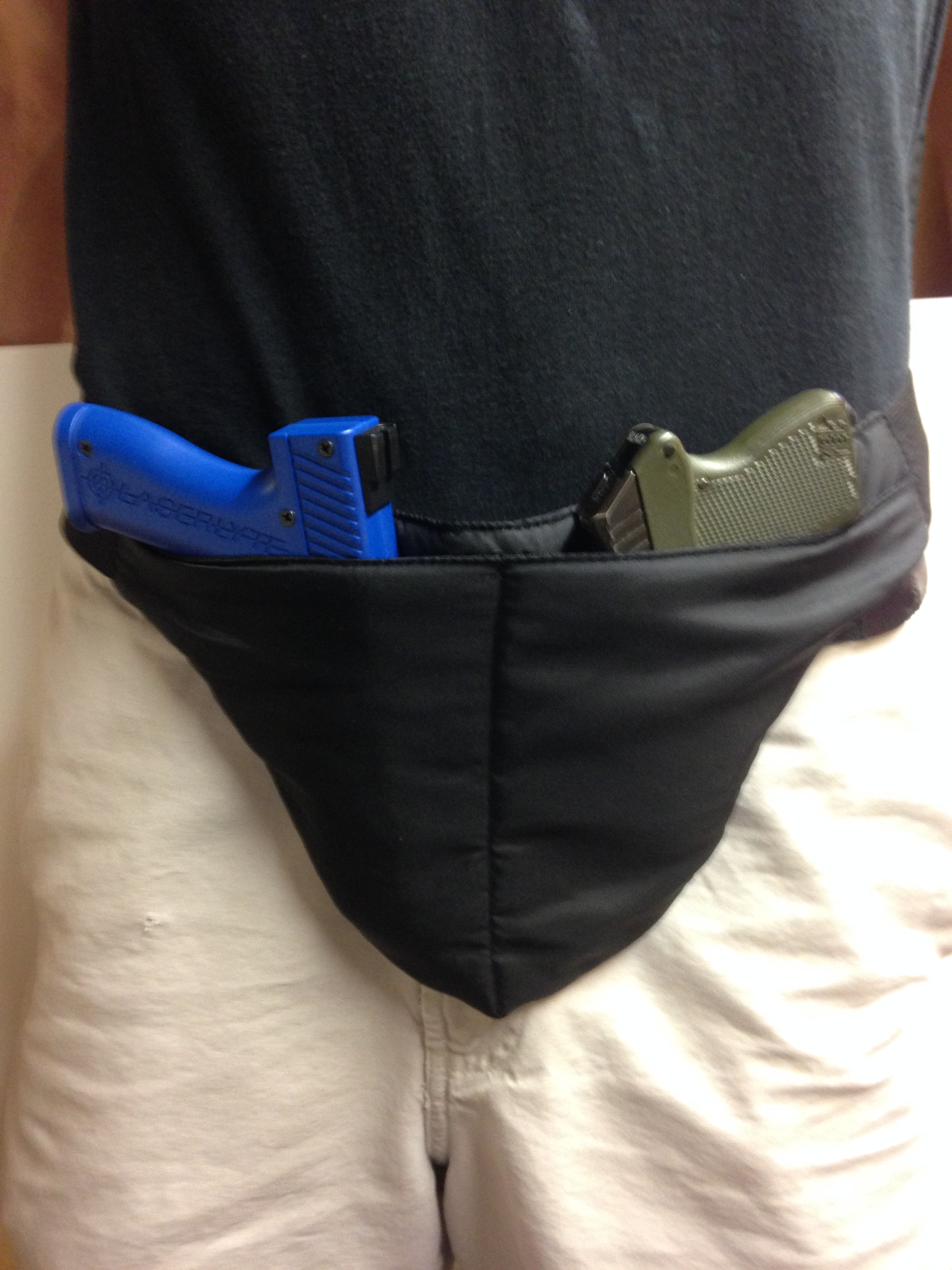 Deep Concealed Crotch Carry Holster